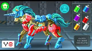 Cyber Unicorn Assembly - Y8 Game | Eftsei Gaming