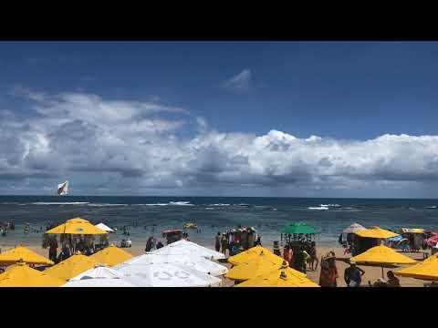 Time Lapse em Praia do Cupe, Porto de Galinhas, Pernambuco