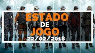THE DIVISION-ESTADO DE JOGO 22.02.2018-XBOX ONE E PS4-PTBR