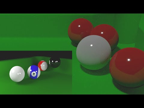 Blender Beginners Tutorial: How To Create A Simple Animated Snooker Or Pool Scene