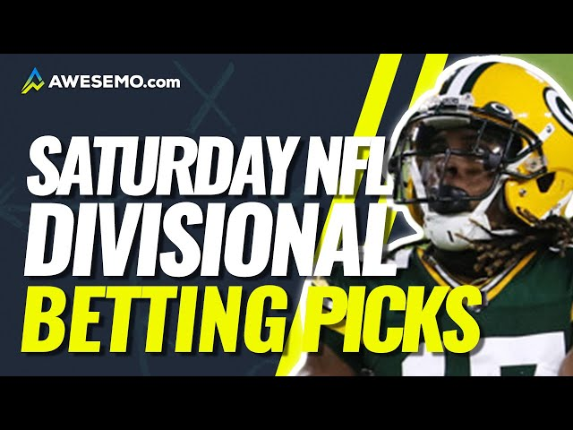 NFL SATURDAY BEST BETS | Divisional Round NFL Betting Odds, Predictions, & Picks