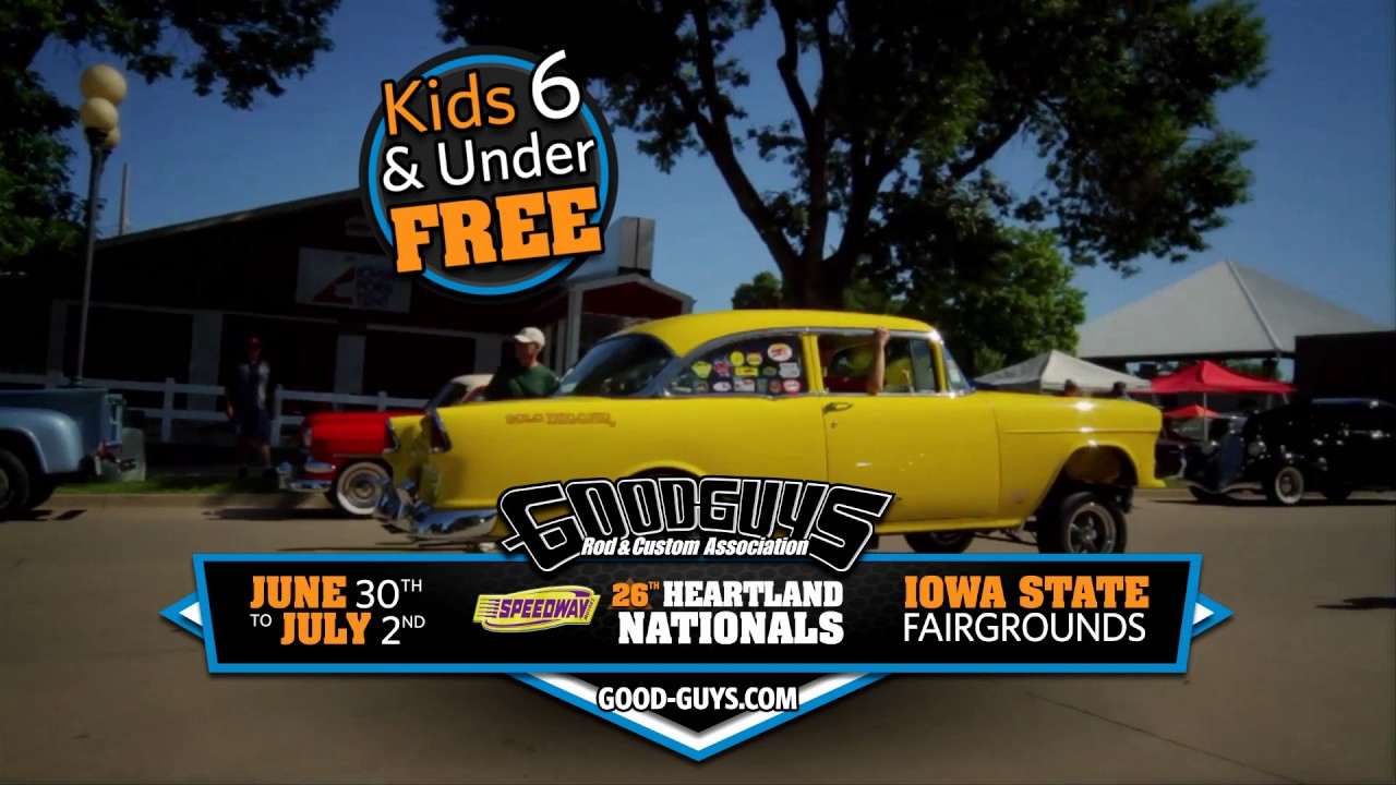 Goodguys Th Speedway Motors Heartland Nationals Promo YouTube - Good guys motors