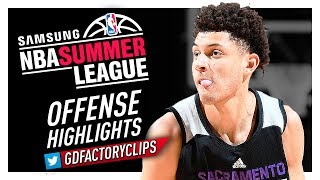Justin Jackson 2017 Summer League Offense Highlights - Kings Debut!