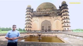 The legendary Gol Gumbaz and the legends within its door - #DoorsOfIndia