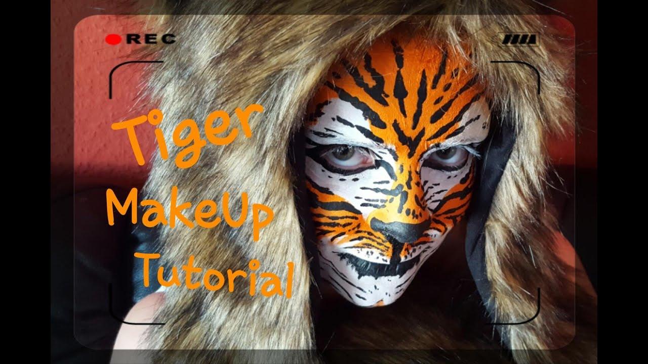 Tiger Makeup Tutorial - #Face U0026 Body Painting - YouTube