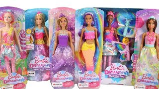 Barbie Dreamtopia Dolls Unboxing Toy Review