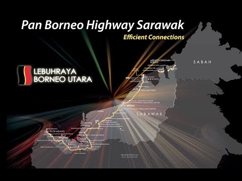 Video on Pan Borneo Highway Sarawak June 2018