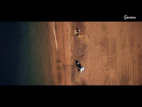 Limpieza integral en las playas de Almería | ACCIONA