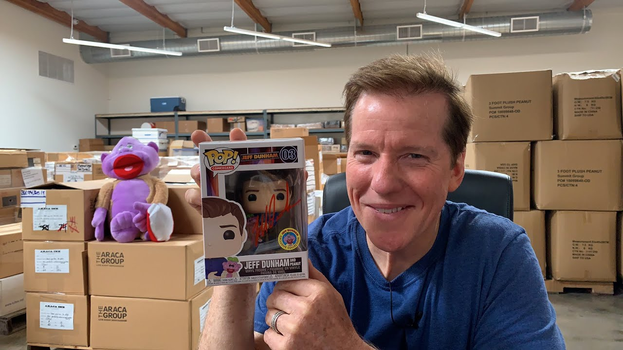 Live! Autographing Funko Pops and Answering Questions | JEFF DUNHAM