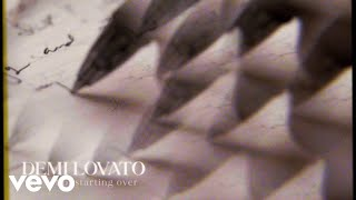 Demi Lovato - The Art Of Starting Over (Visualizer)