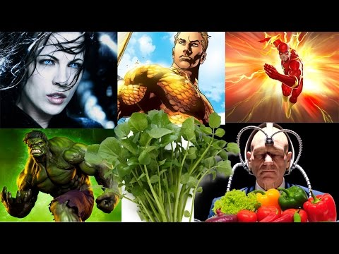 5 Superpowers from Plant Foods