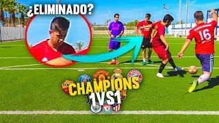 ¡La FINAL de la CHAMPIONS 1vs1 se DECIDE! JORNADA 8 ¡Reto Fútbol! [Crazy Crew]