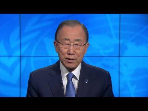 United Nations Secretary-General Message on World Humanitarian Summit