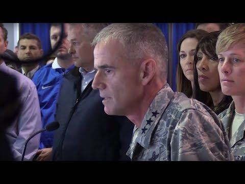 Air Force Academy Superintendent Tells Haters To 'Get Out'
