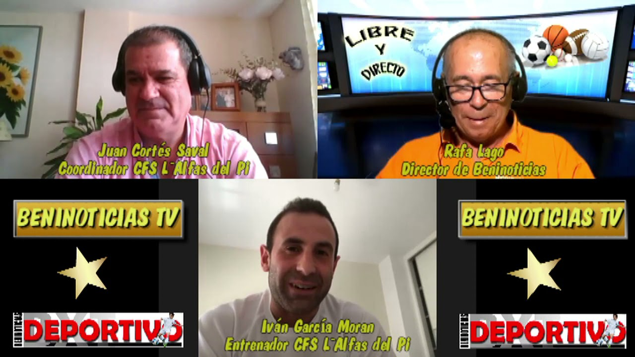 Vídeo entrevista con Iván García Moran y Juan Cortés Saval entrenador y coordinador del CFS L`Alfas
