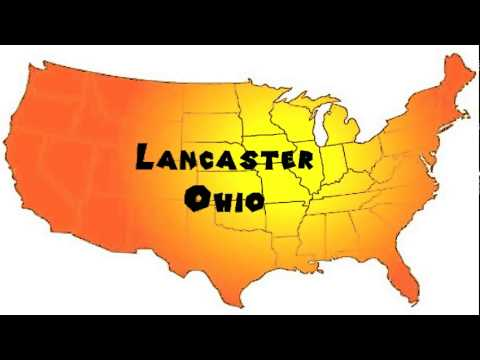 How to Say or Pronounce USA Cities — Lancaster, Ohio