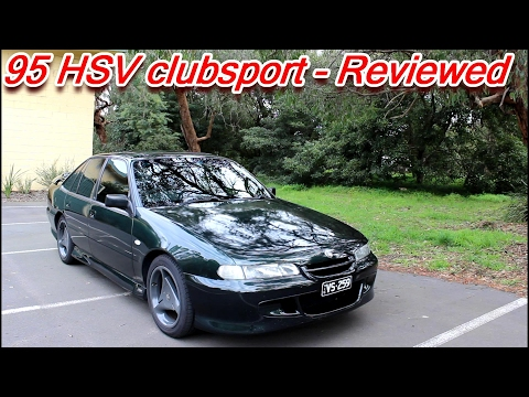 HSV VS clubsport 1995 review - Still a great V8 Cruiser? - Holden Special Vehicles