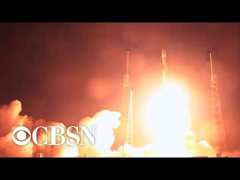 SpaceX launches rocket carrying privately funded Israeli moon lander