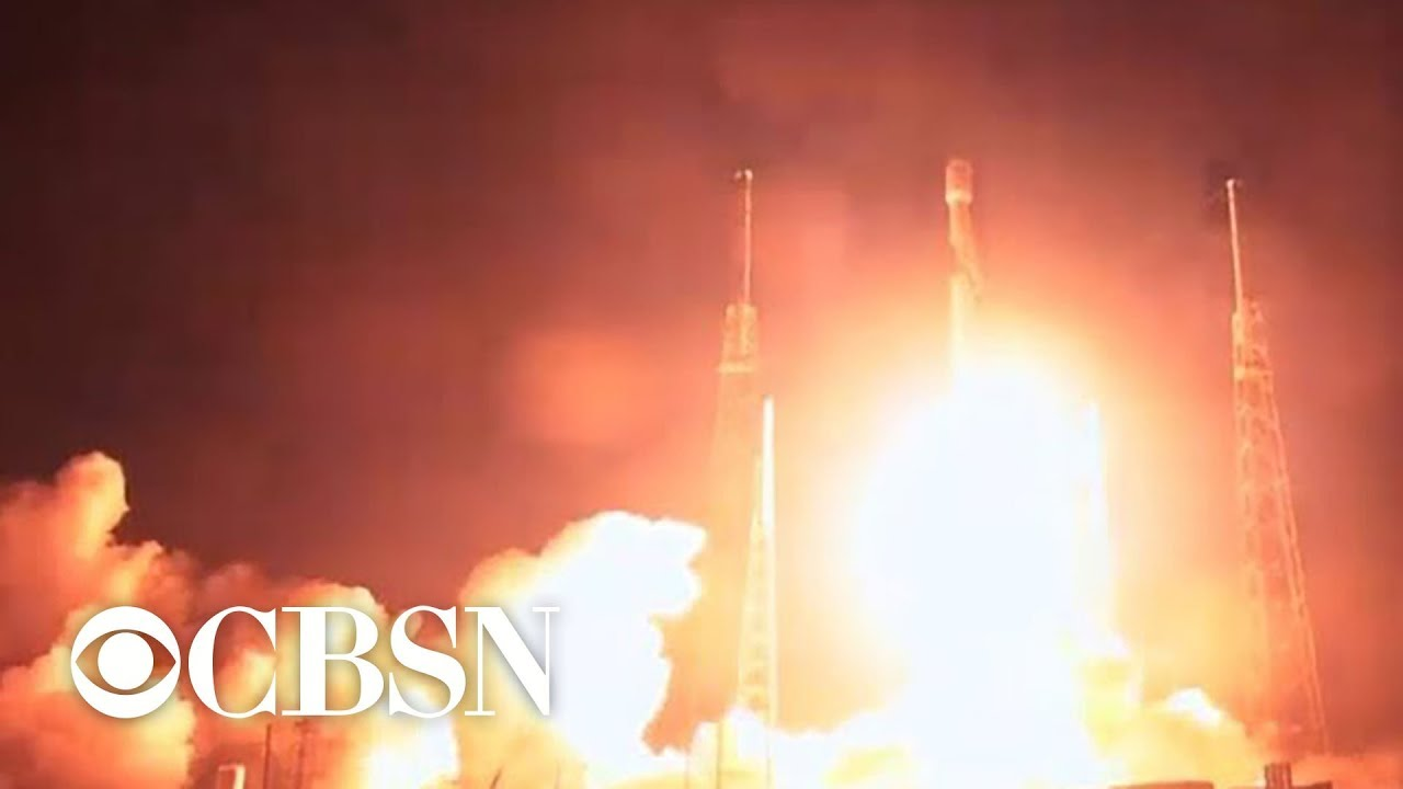 SpaceX launches Falcon 9 rocket carrying privately funded Israeli moon lander
