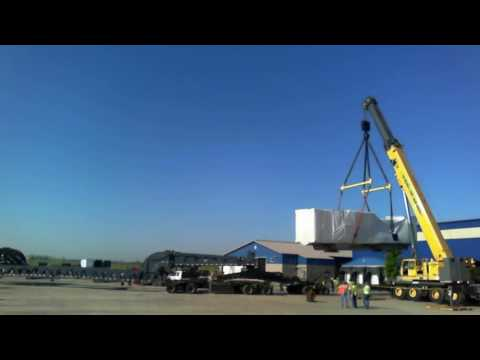 A & B Welding & Construction, Inc    GE LM2500 692015 Offload