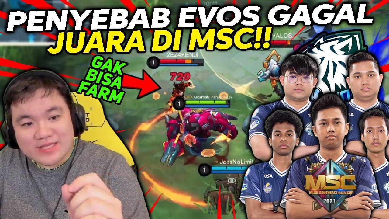INILAH HERO BIKIN EVOS KALAH di MSC Lawan EXE! Dibuat GAK BISA FARMING Sama GROCK!! - Mobile Legends