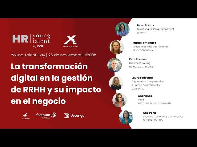 La transformación digital en la gestión de RR. HH. y su impacto en el negocio