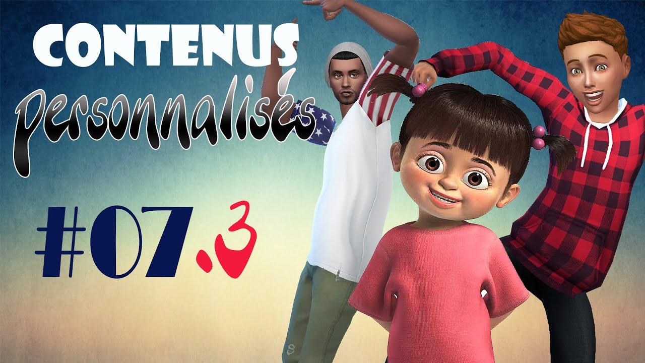 Favorit CC SIMS 4 #07.3 [Vêtements Homme/Enfants] - YouTube ZI48