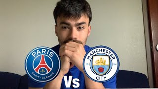 Manchester City vs PSG first leg predictions