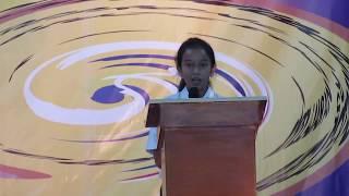 Sambutan Ketua OSIS SMP Stella Maris BSD - Graduation SMP 2018