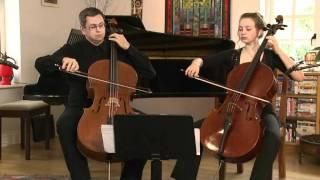 Telemann, Canonic Sonata No.1, Leonid Gorokhov & Laura van der Heijden, cellos
