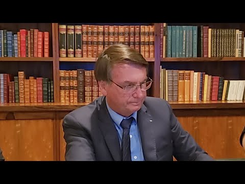 Primeira Live de 2021 (07/01) - Presidente Jair Bolsonaro