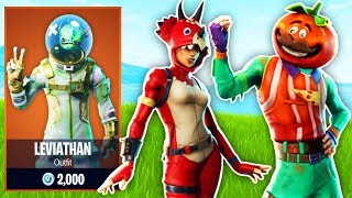 *NEW* Fortnite Skins! - Fortnite battle Royale NEW Legendary Skins (Tomatohead AND Leviathan)