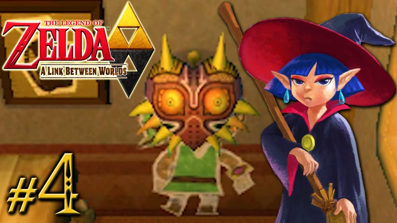 The Legend Of Zelda A Link Between Worlds Witch Way