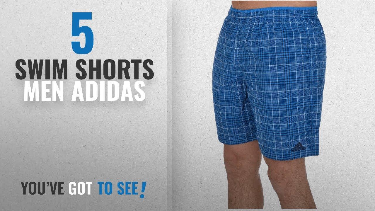 Top 10 Swim Shorts Men Adidas [2018]: adidas Performance Mens Check  Swimming Shorts - Blue