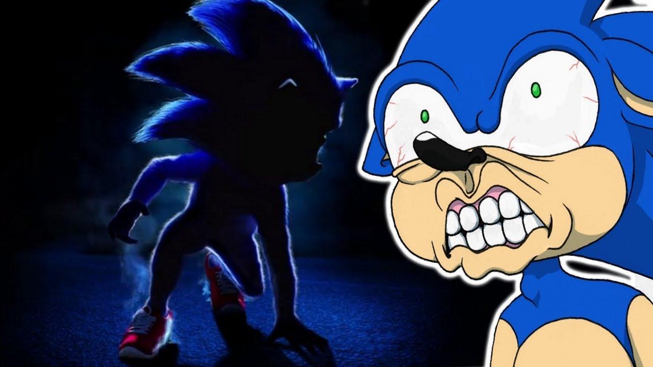Sonic movie 2019 poster.