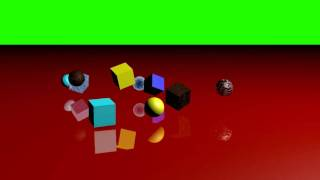 Cinema 4D: Random Falling Objects Test