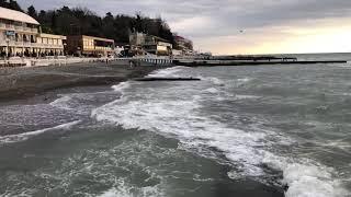 02.01.2019 Погода в Сочи в январе. Смотри на Чёрное море каждый день.