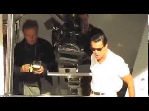 The Wolf of Wall Street Yacht Scenes ON-SET