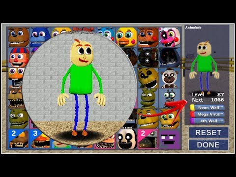 Adventure Baldi Basics In FNaF World - Adv Baldi Version! (Mod)