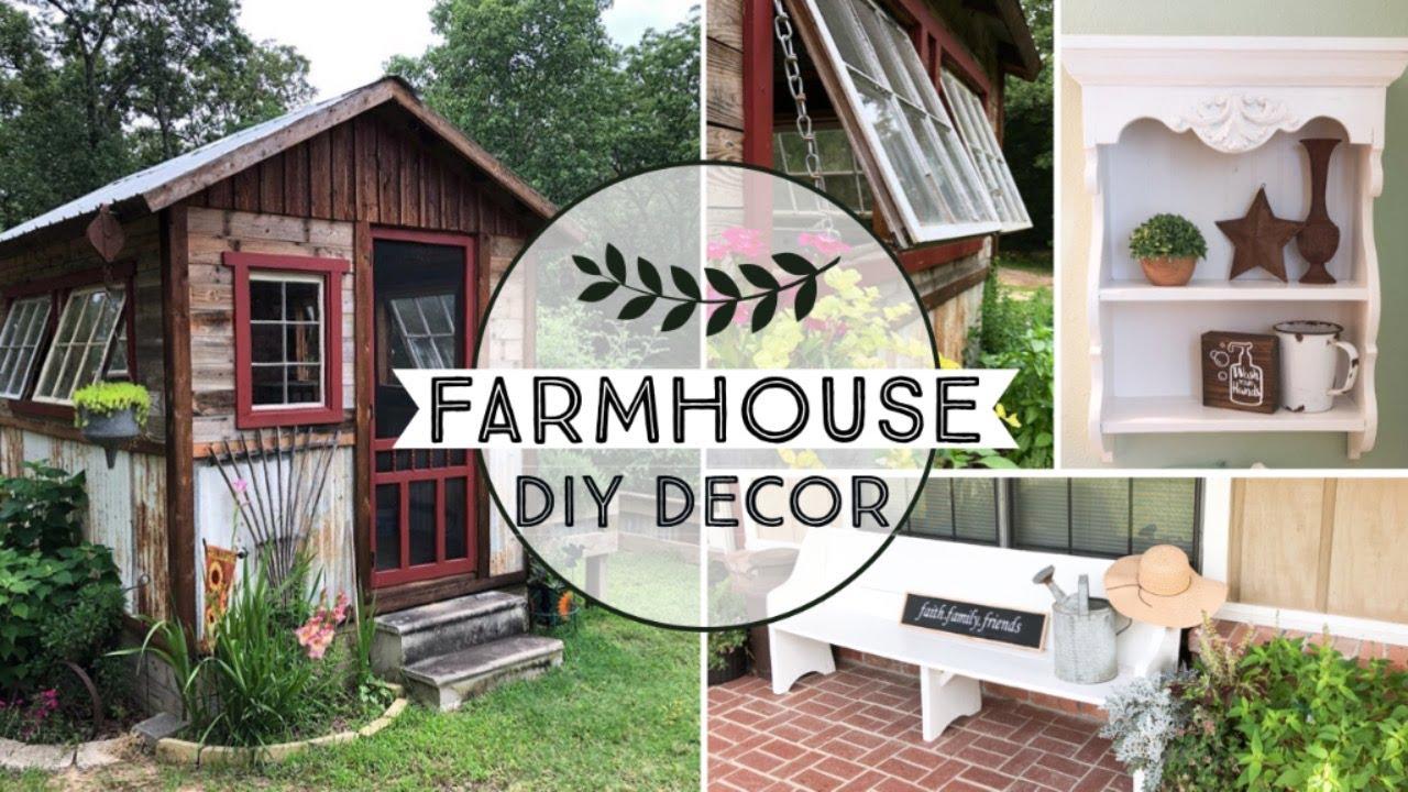 DIY FARMHOUSE DECOR IDEAS 2020 - HOME DECOR ON A BUDGET