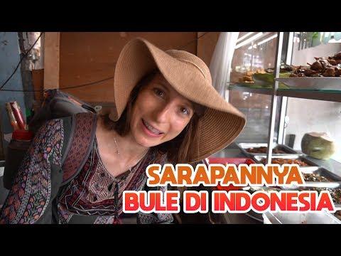 Sarapannya Bule di INDONESIA - Globe in the Hat #34