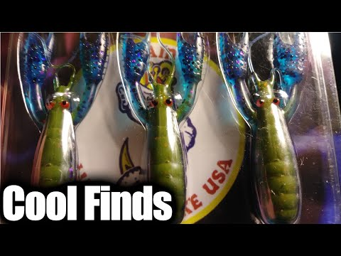 Flea Market Fishing Finds & Bargain Bin Fishing Lures (Winner)
