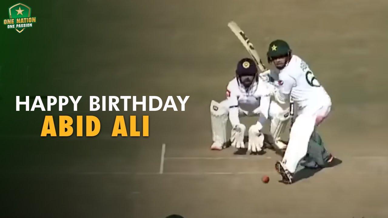 Happy Birthday Abid Ali - A special birthday treat for his fans!