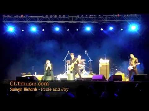 Swingin' Richards live at Blues and BBQ at NC Music Factory - Pride and Joy