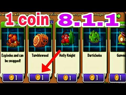 cách hack plants vs zombies 2 tren may tinh - Cách sở hữu mọi thứ trong Shop 8.1.1 pvz2 chỉ với 1 coin #plantsgamer#shop1coin#update811