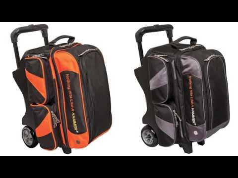 Hammer Premium 2 Bowling Ball Roller Bag