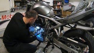 Dirbtuviu Kronikos - Italiskas Aprilia kaprizas, Kinija o gal ir ne?, Suzuki GSF650 bedos