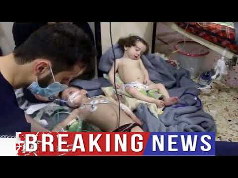 Trump condemns Syria for 'chemical attack' on Douma | World News Today | Breaking News Today