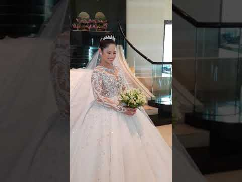 Leo Almodal wedding gown Masterpiece for Angelica Rupwrto Arnaiz- Ortiz