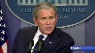 Pres. Bush's Last Press Conference
